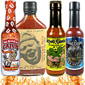 Louisiana Cajun and Bayou Hot Sauces